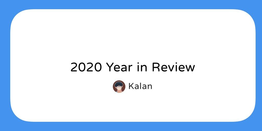 2020 回顧 / 2020 Year in Review — 技術篇