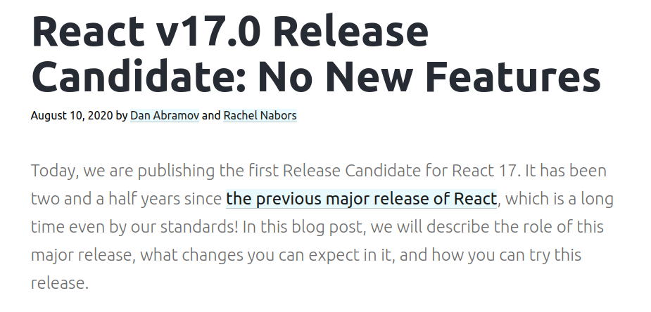 React 17 更新重點 - useEffect 的 clean up 函數時機改變