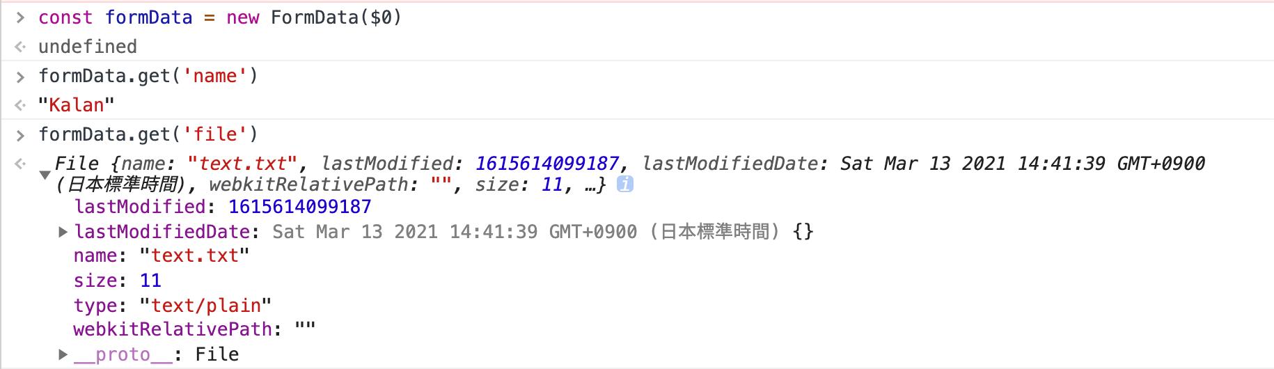 FormData 在 JavaScript 的應用