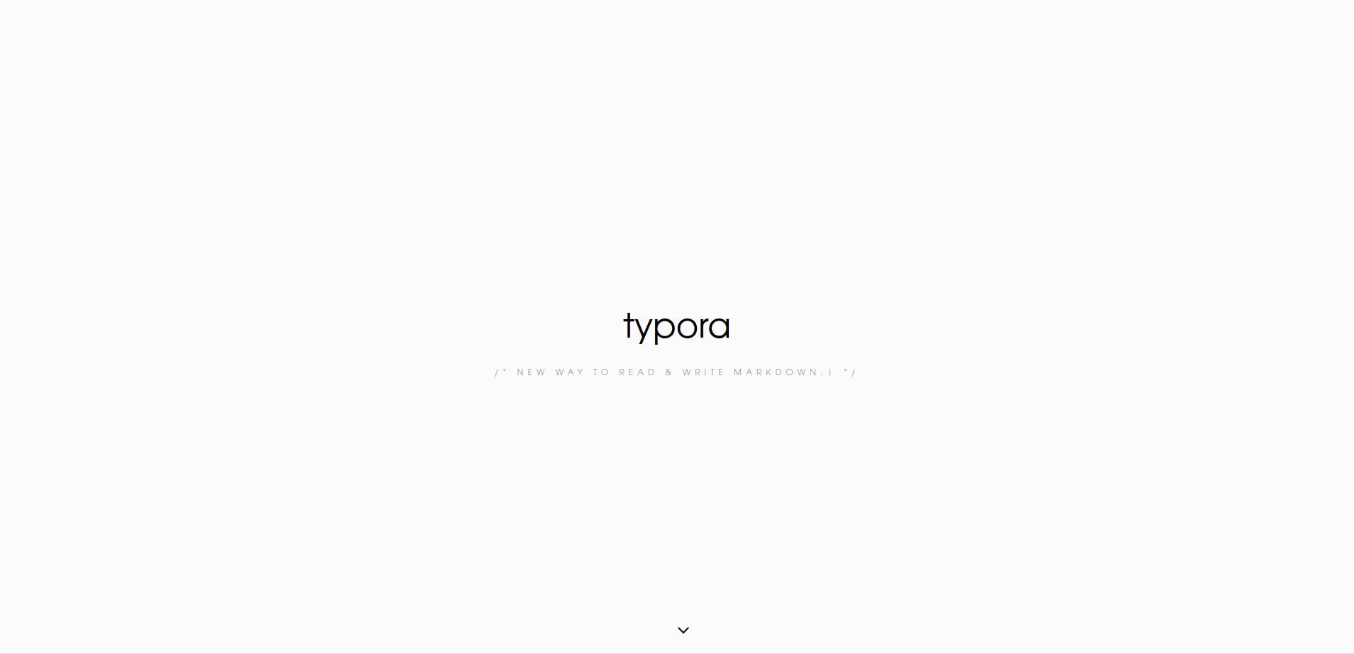 Typora - 好用的 markdown 編輯器